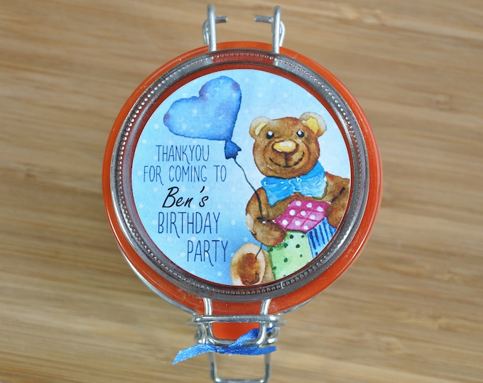 Pack of personalised party bag treats, thanks for coming to my party, childs party guests gifts, party favours, little treat for party bag