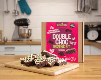 Michel Roux Double Chocolate Brownie Kit for No-Fuss Baking!