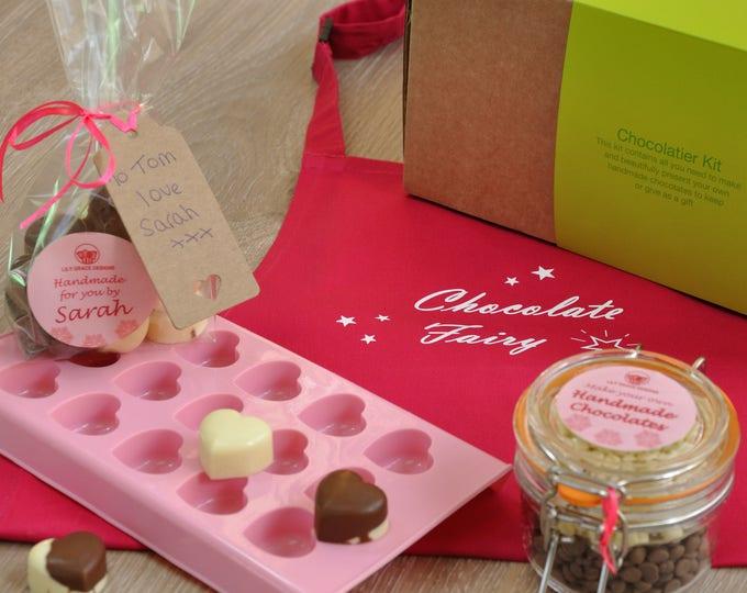 Love Heart Chocs, Unusual Choc Kit, Birthday gift, Anniversary gift, Christmas gift, Chocolates friend, Chocolates Loved One, White chocolat