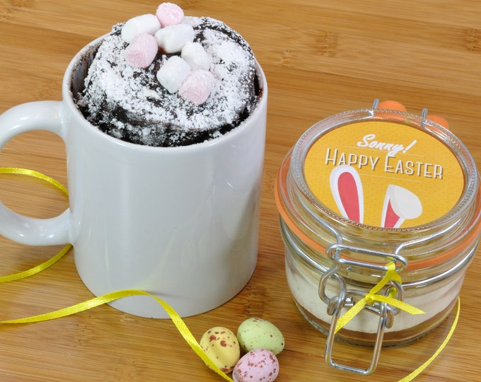 Personalised Easter Cake with Bunny Ears Design!