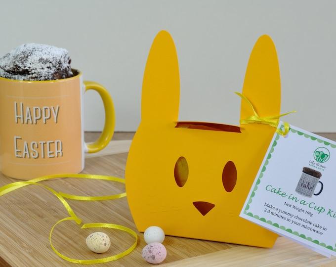 Easter Chocolate Mug Cake Mix in Cute Bunny Box
