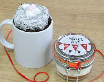 The Worlds Best Dad's Chocolate Cake in a Mug!