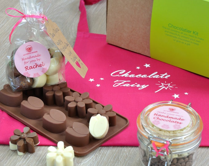 Chocolates For Nana, Aunt, Gran, Mum, Daisy chocs, tulip chocs, Mothers Day chocs, mums, sisters, aunts, daughters birthday, chocolate mould