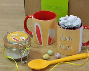 Personalised Easter Chocolate Mug and Cake Gift Set