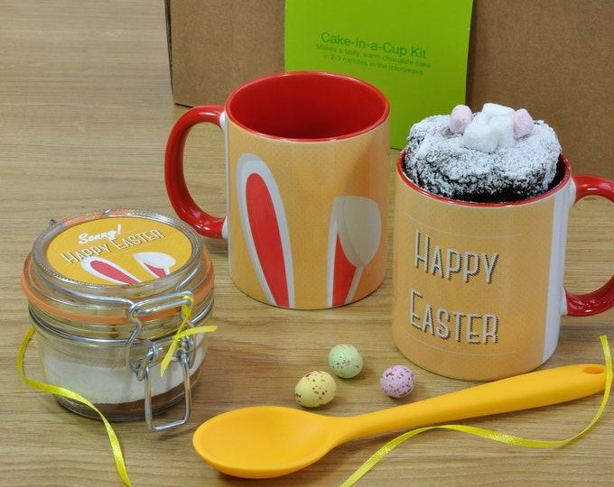 Personalised Easter Chocolate Mug and Cake Gift Set