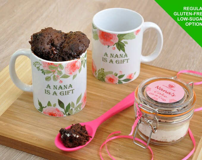Nana cake topper, Nana mug, Nanna mug, Nana gift, Nanas birthday, Nana Mothers Day, present for nana, nana cake, baking nanna, Mother's Day