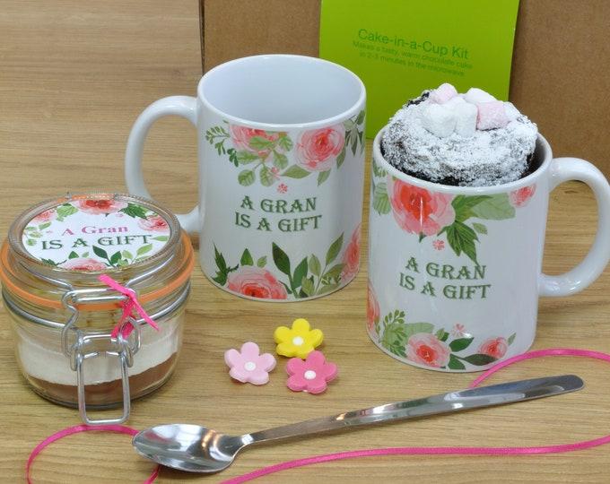 Gran gift, present for gran, gift from grandchild, gran sweet treat, gran baking gift, personalised gran, gran personalized, grandson gift