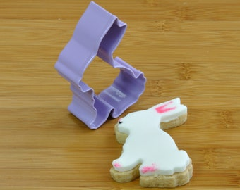Bunny rabbit cutter for cookies, biscuits, fondant icing, pastry or clay modelling!
