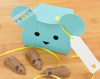 Easter Chocolate Mouse Treat Box Full of Chocolate Mice!