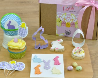 My Easter Baking Box gift set - make and beautifully decorate Easter cupcakes and cookies
