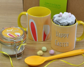 Personalised Easter Chocolate Mug Cake Gift Set