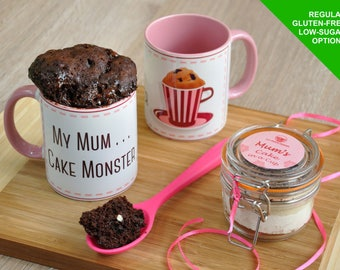 Mum mug, mothers day, mums mum's birthday, mum present, funny gift mum, mum baking kit, mug for mum, happy birthday mum, mums baking gift