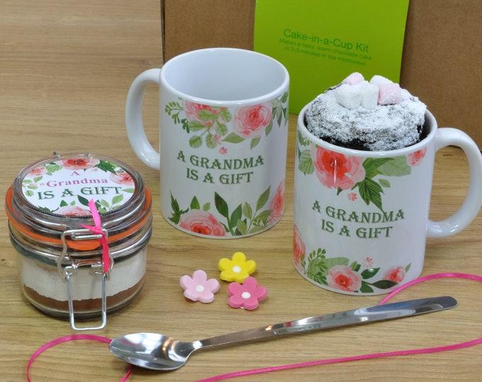 grandma cake topper, grandma mug, grandma gift, grandmas birthday, grandma Mothers Day, present for grandma, my grandma, special grandma,