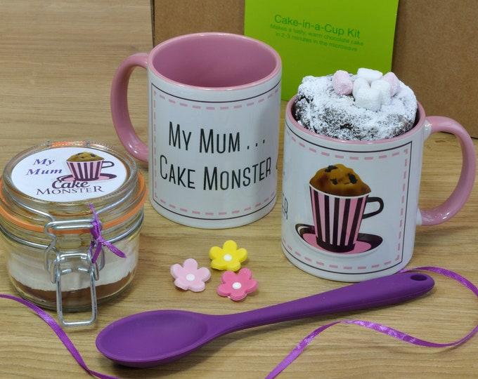 Mum mug, mothers day, mums mum's birthday, mum present, funny gift mum, mum baking kit, mug for mum, happy birthday mum, mums baking gift
