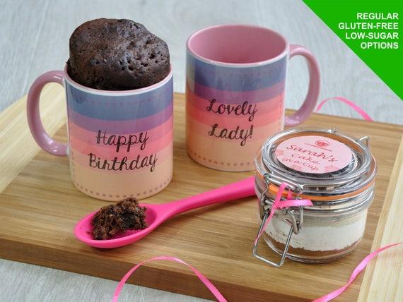Best Friends Mug Happy Birthday Cake Funny