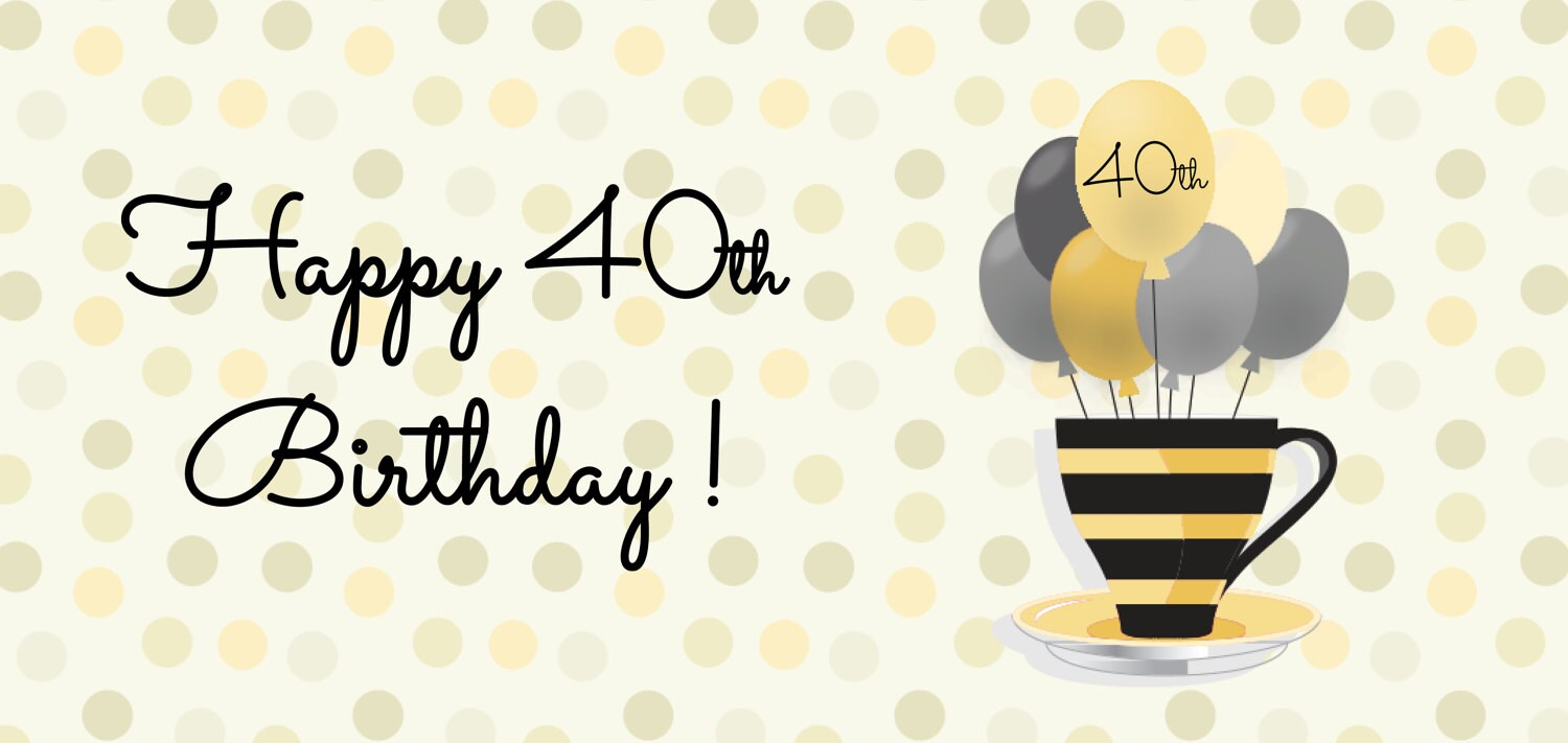 Happy 40th Birthday Chocolate Mug Cake Gift Set With Personalisation Vegan Dairy Free Gluten Options