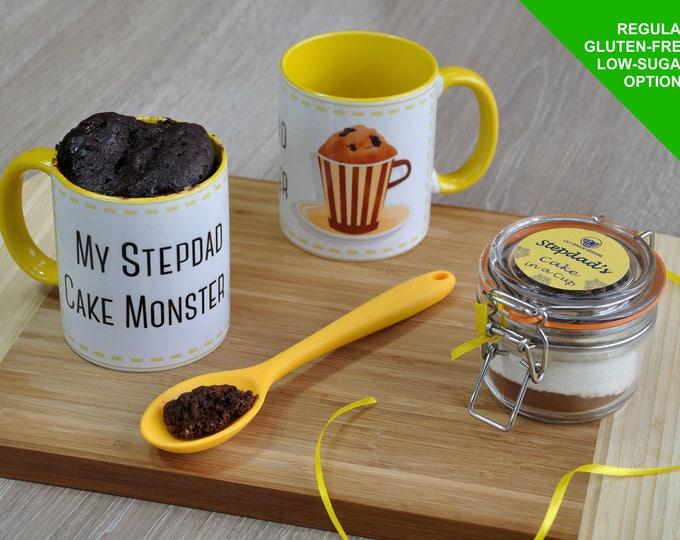 Stepdad gift, Fathers Day, gift for stepdad, stepdads birthday, cake lover stepdad, stepdad present, cake for stepdad, stepdad mug,