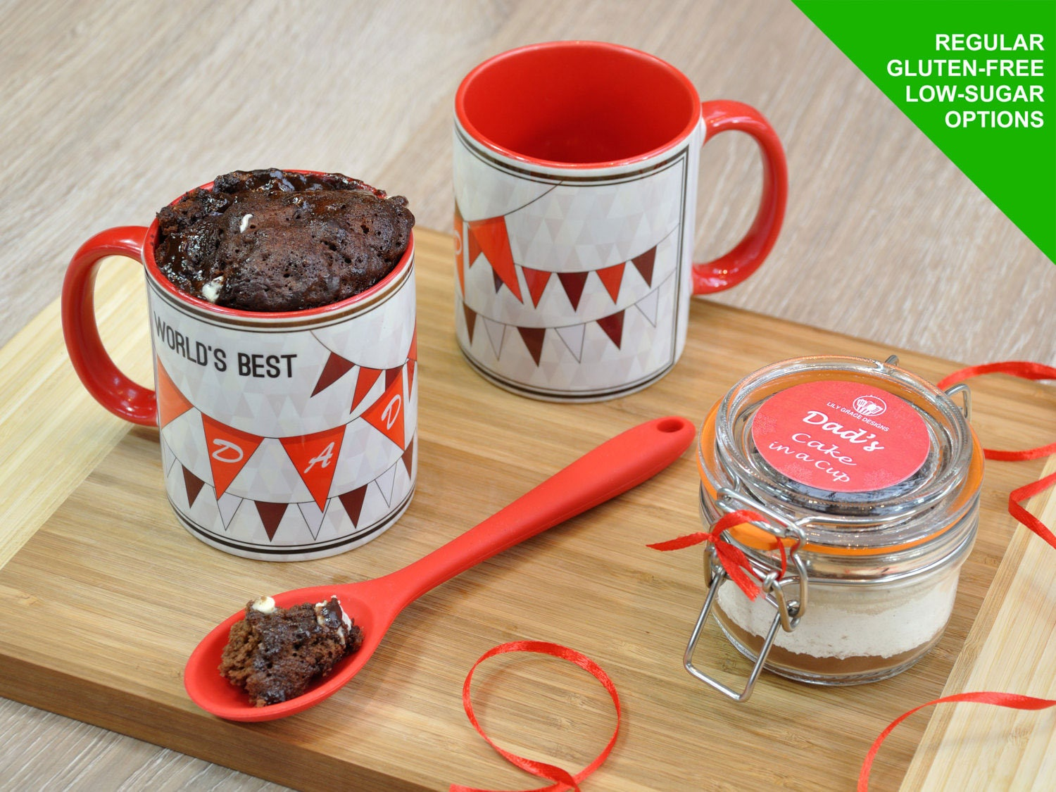 Dad Mug Fathers Day Cake Kit Gift For Worlds Best