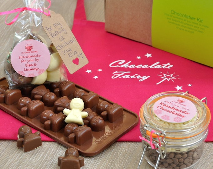 Chocolate Angels, Festive chocolate, Personalised Xmas, Christmas Xmas tree, Handmade angels, Christmas spirit, little angel, Angel mould,