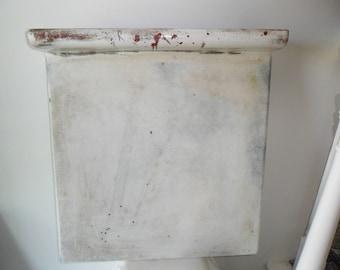 Vintage Enamel Countertop~Metal Countertop~23 x 25