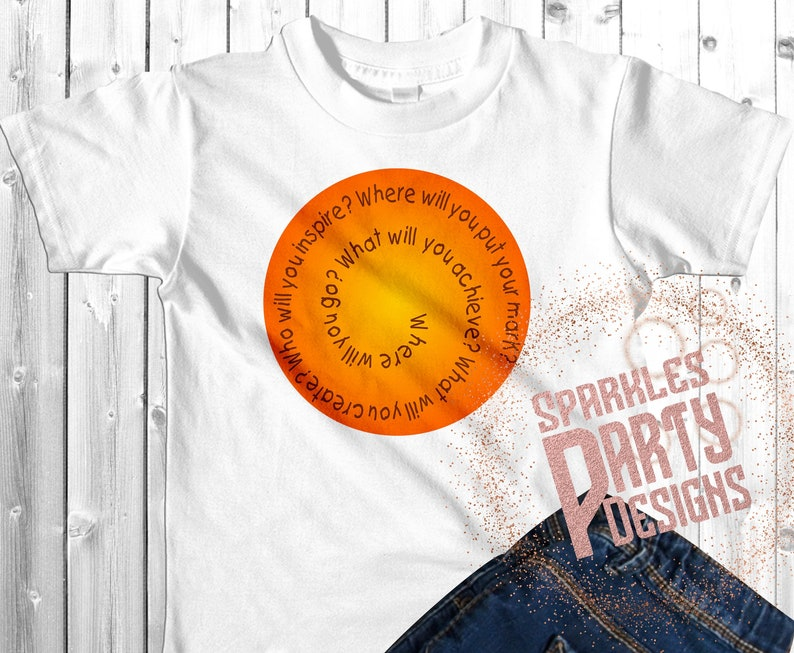 International Dot day Printable Sublimation Graphic designs image 0