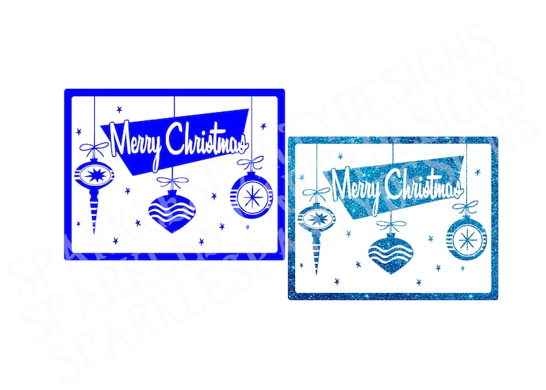 Retro Merry Christmas Sublimation Graphics Design Download and image 0