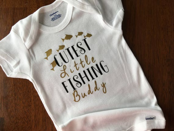 Papa/'s Little Fishing Buddy  New Without Tags Gray  Tee Shirt SIZE 24 months