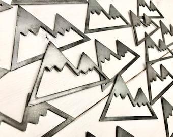 Mountain Magnet - Rustic Magnet - Fridge Magnet - Mountain Decor - Cabin Decor