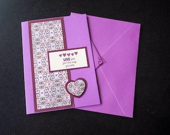 Handmade All Occasion card