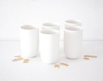 TASSE - Porcelaine Blanche