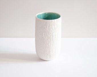 Tasse à thé ONDINE - Porcelaine & Céladon