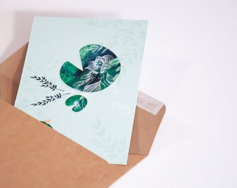 Carte ONDINE A6 - Ondine se dandine