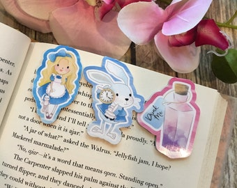 Wonderland Inspired Bookmarks