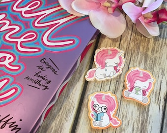 Cute Unicorn Bookmarks