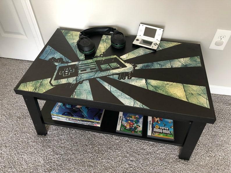 Controller Coffee Table.Nintendo Nes Custom Retro Controller Video Game Coffee Table V3