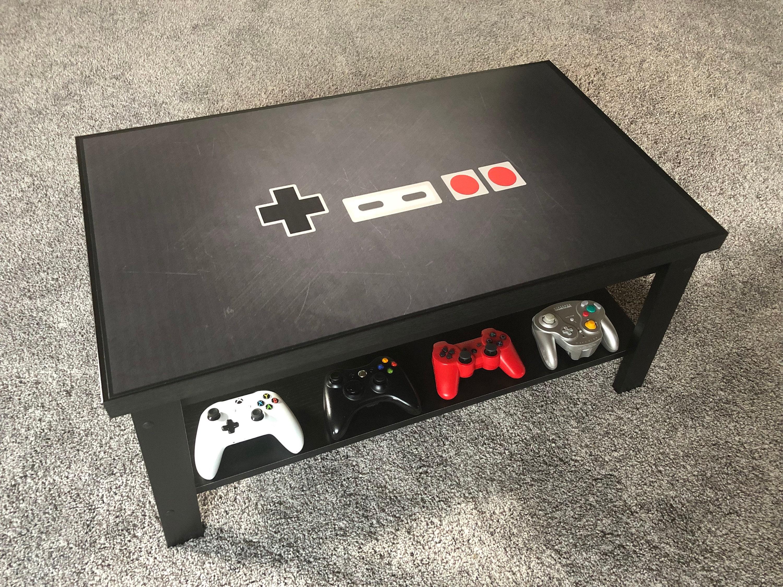 Controller Coffee Table.Nintendo Nes Modern Video Game Controller Coffee Table