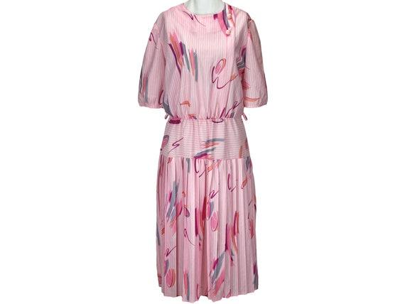 Vintage Doo-Dads spiral pattern dress