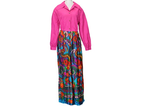 60s Vintage Hostess Dress, Charlotta of California