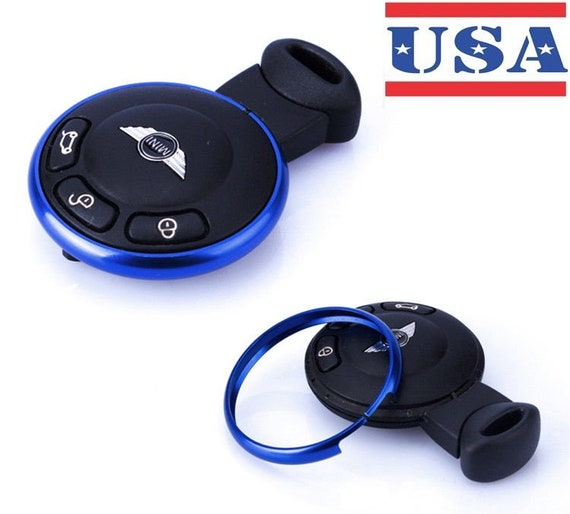 Smart Fob Replacement Key Ring Decor Trim For 08-Up Mini Cooper JCW R58 R59 R60