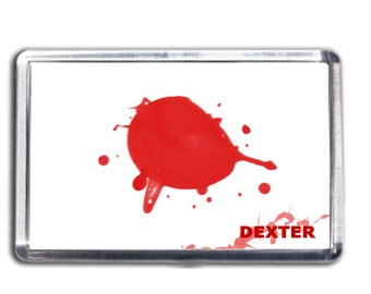 Dexter Morgan Blood Slide Fridge Magnet