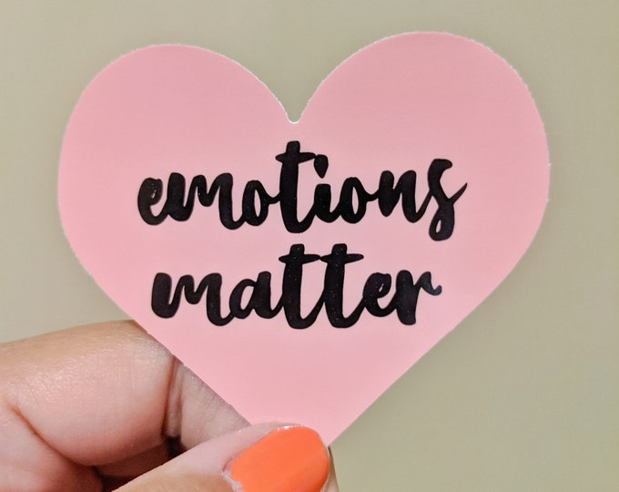 Emotions Matter sticker