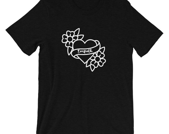 Empath Black Short-Sleeve Unisex T-Shirt