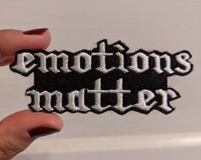 Emotions Matter patches