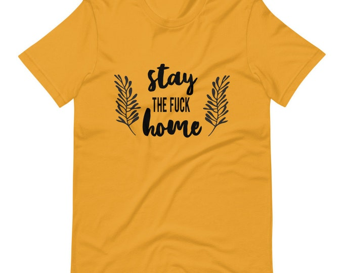 stay at home Short-Sleeve Unisex T-Shirt