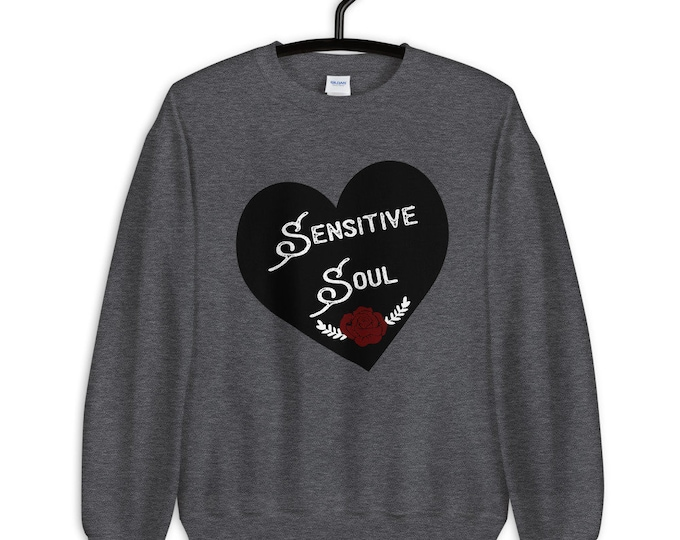 Sensitive soul plus size sweatshirt