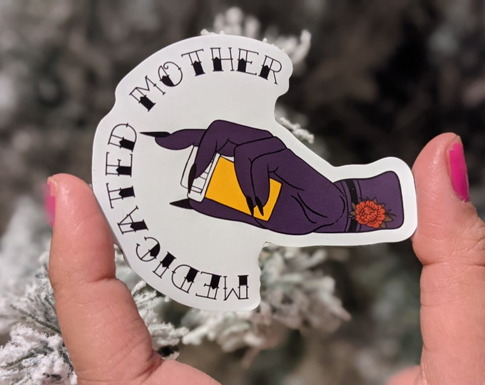Medicated mother magnet