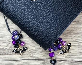 Batty Bat planner charm, bookmark, purse charms