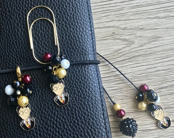 HP planner charm, purse, backpack, charm bookmark