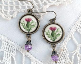 Thistle Earrings