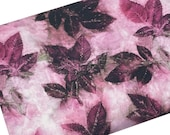 Watercolor Leaf Birch BLACKBERRY by Katrinka for Free Spirit, Fabric by the yard, Fat Quarter, Quilting Apparel Fabric, 100 Cotton